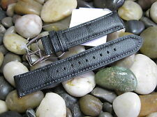 20 mm Coach Black Gray Signature C Men's Genuine Leather Watch Band strap 1269 ✅