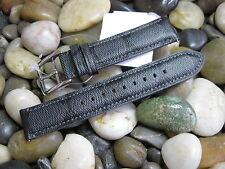 20 mm Coach Black Gray Signature C Men's Genuine Leather Watch Band strap 1269 ✅