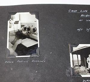 Photograph record Trip to India 1945 - 46 Miltary RAF Album WW2 186 pics Life OS