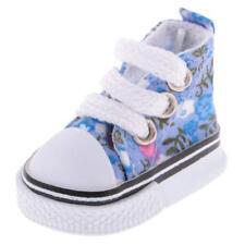 Puppen Schuhe Turnschuhe Sneakers Leinenschuhe 5 cm lang, Nr. 2154