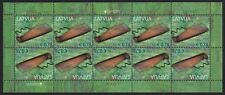 Latvia 2014 Europa Musical Instruments M/S set Sc# 872-73 NH