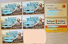 Lot of 7 Original Vintage Expired Airline Credit Cards–Eastern/ National 1977-86