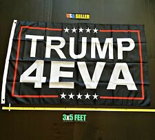 New listing Donald Trump 2020 Flag Free First Class Ship Trump 4 Eva Ever Usa New One Sided