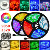 5M-20M 5050 3528 SMD RGB Flexible Strip LED Light Waterproof 12V 300 led Lamp