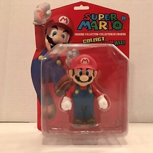 Super Mario Figurine Collection Mario Action Figure Banpresto Nintendo 2009 NEW!