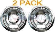 "2 Pack Ge Kenmore 6"" Drip Bowl Wb32X5072 Wb32X5062 Wb32X5048 Wb32X5037 Wb32X0107"