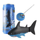 Mini Remote Control Shark Swim in Water Christmas Gift for Boys & Girls (Black)
