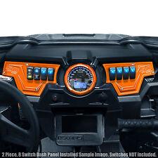 Polaris RZR XP1000 900S Orange 2pcs 8 Switch Dash Panel Performance Upgrade
