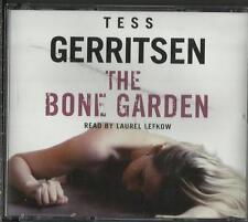 The Bone Garden by Tess Gerritsen  Audio CD   read by Laurel Lefkow  Maura Isles