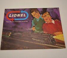 1966 Lionel Toy Trains Catalog Raceways Phonographs Science Sets O 027 Gauge