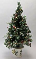"Bradford Exchange ""Winter's Beautiful Blessings"" Illuminated Tabletop Tree 24"" T"
