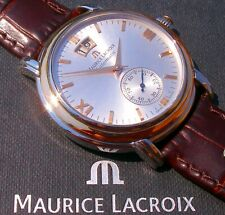 Maurice Lacroix - Masterpiece - GRAND GUICHET in Stahl/18K-Gold; VP: 3.500,- EUR