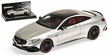 Minichamps 2015 MERCEDES BRABUS 850 S63 COUPE GREY 1:43 LE 350pcs New Item!