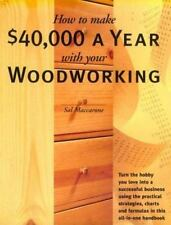 How to Make $40,000 a Year With Your Woodworking
