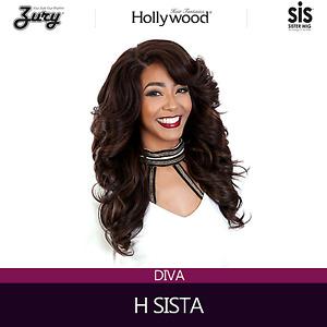 Zury Hollywood Sis Wig Pre Tweezed Part Wig DIVA H SISTA
