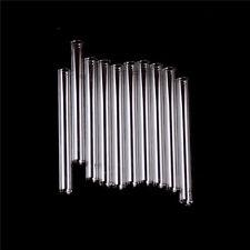 10Pcs 100 mm Pyrex Glass Blowing Tubes 4 Inch Long Thick Wall Test  G* HV