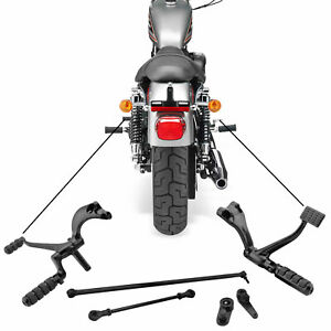 Harley-Davidson Sportster 2014 - 2021 Front Footrest Forward Controls Set Black
