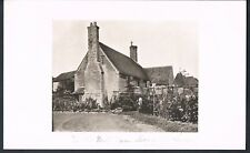 PRINT PHOTOGRAPH THE OLD MILL FARM MAYFIELD SUSSEX C1923