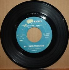 LEE SHOT WILLIAMS *We're Gonna Make It* THINK IT'S YOU Soul 45 OUTTA SIGHT 1002