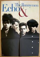 Echo And The Bunnymen s/t Original 1987 Us Promo Poster Minty! Ian McCulloch #1