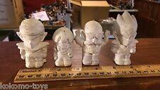 Prototype Test Shot Figure Dragon Ball Z Rotocast Resin Mini Figure Set Bandai