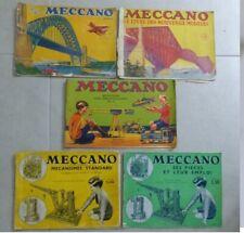 Meccano : Catalogue 1934/35 et modes d'emploi