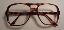 Vintage Elite John Amber 58/20 Men's Plastic Eyeglass Frame Nos #S55