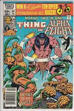 MARVEL TWO-IN-ONE  #84  {1982} MARVEL,  ALPHA FLIGHT