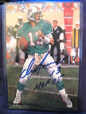 GOAL LINE ART 2005 DAN MARINO DOLPHINS GLA  HOF SIGNED SET BREAK #/5000