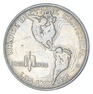 Early 1923-S Monroe Doctrine US Mint Commemorative Half Dollar Brilliant *626