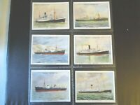 1935 Wills FAMOUS BRITISH LINERS ships series 2 set 30 cards Tobacco Cigarette