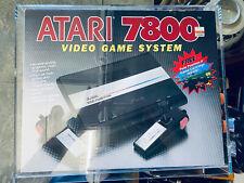 Atari 7800 Launch Edition Black Console (PAL)