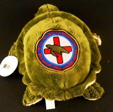 "Wishpets JOLENE 10"" Sea Turtle Plush THE TURTLE HOSPITAL Rescue Rehab Release"