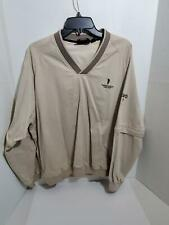 Mens Large Golf Pull Over Jacket Convertible Long Short Sleeve Ashworth Outdoor