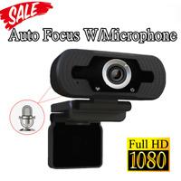 HD Webcam 1080P with Microphone, PC Laptop Desktop Android TV USB Webcams SZ