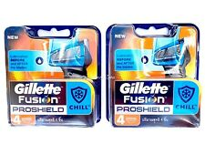 Gillette Fusion Proshield - Chill Razor Blades 16 (4x4pack) Genuine (BNIB)