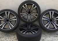20 Zoll satz winterkompletträder für BMW X5 E70 F15 X6 F16  + RDKs Sensor