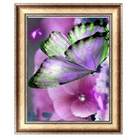 Butterfly flowers Diamond Embroidery 5D Diamond DIY Painting Cross Stitch Crafts