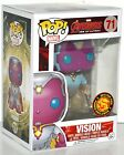 Funko Pop Marvel Avengers Age of Ultron Vision Vinyl Figure #71 Asia Exclusive