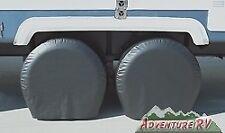 "ADCO Black Ultra RV Tyre Tire Cover Gard 27-29"" set of 2 RV Camper Trailer 3973"