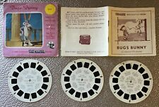 Bugs Bunny,Full Set,Vintage Viewmaster Reels X 3.With Booklet,B5311,B5312,B5313