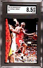 1994-95 Upper Deck SP Michael Jordan #MJ1 Red SGC 8.5 graded NM-MT+ Bulls HOF