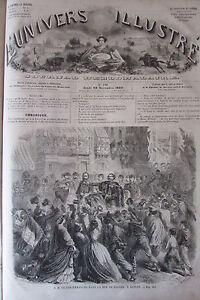 Victor Emmanuel Napoli Moschea Achmet Stampa XIX N° 132 Universo Illustre 1860