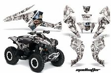 AMR Racing CanAm Renegade500/800/1000 Graphic Kit Wrap Quad Decal ATV All MADH W