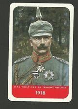 Wilhelm II German Emperor King of Prussia Cool Collector Card Europe