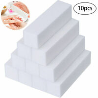 10PC Sponge Buffer Sanding Block Grit Manicure Polisher Nail Art Tips Tool Salon