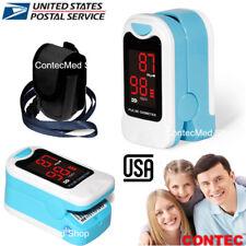 US Finger Pulse Oximeter Portable Blood Oxygen SPO2 Monitor,LED Display Monitor