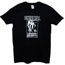 BIKINI KILL T SHIRT Punk Rock Riot Grrrl Feminist Festival TEE SIZE S M L XL XXL