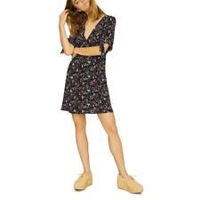 Sanctuary Womens Modern Love V-Neck Tie Cuff A-Line Shirtdress BHFO 6024