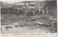 More details for floods at little bray, wicklow 1905 ireland postcard #2 b774